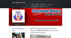 Preview of crosstownmovers.ca