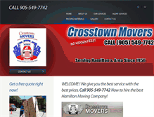 Tablet Preview of crosstownmovers.ca